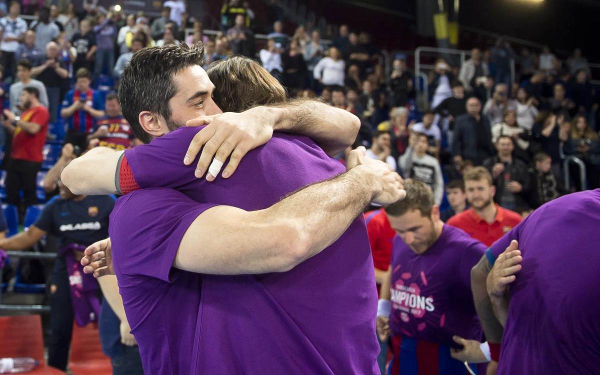 Match Report FC Barcelona Lassa v Bidasoa Irun: Asobal League Champions! (39-25)