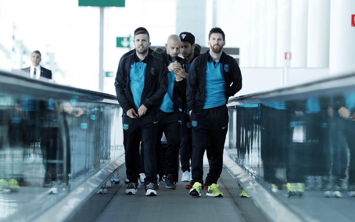 Així ha estat el viatge del FC Barcelona a Torí