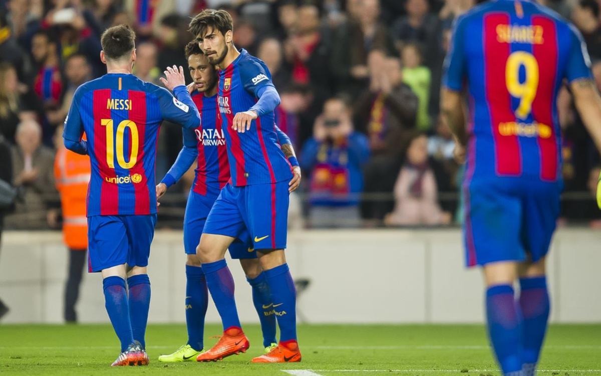 Diecinueve goleadores diferentes del FC Barcelona durante esta temporada