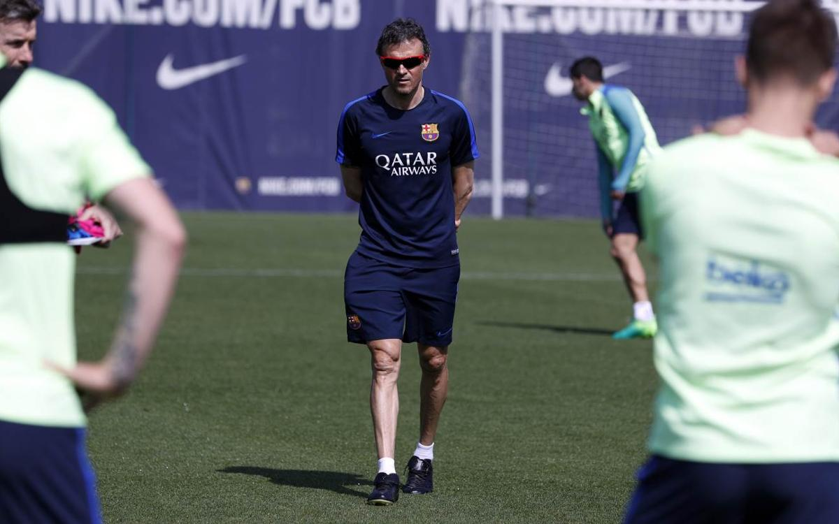 Luis Enrique: Real Sociedad are a very tough side