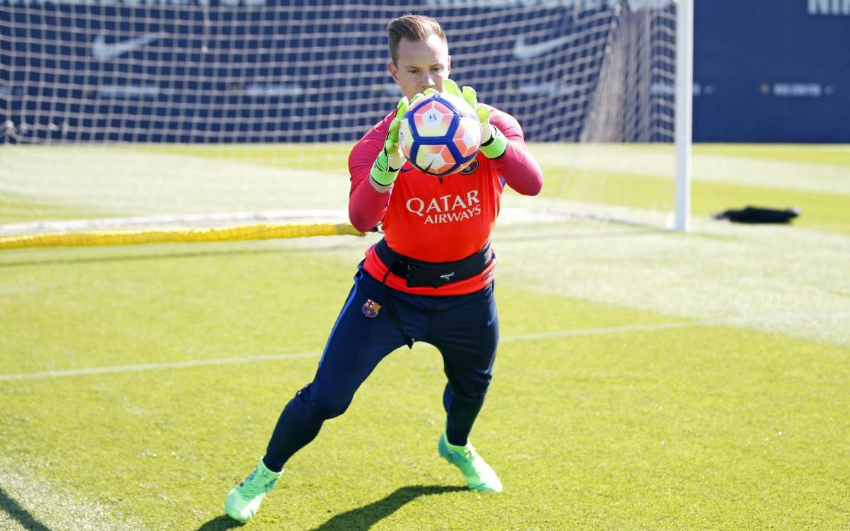 Denis Suárez, Marc-André ter Stegen reappear for midweek workout