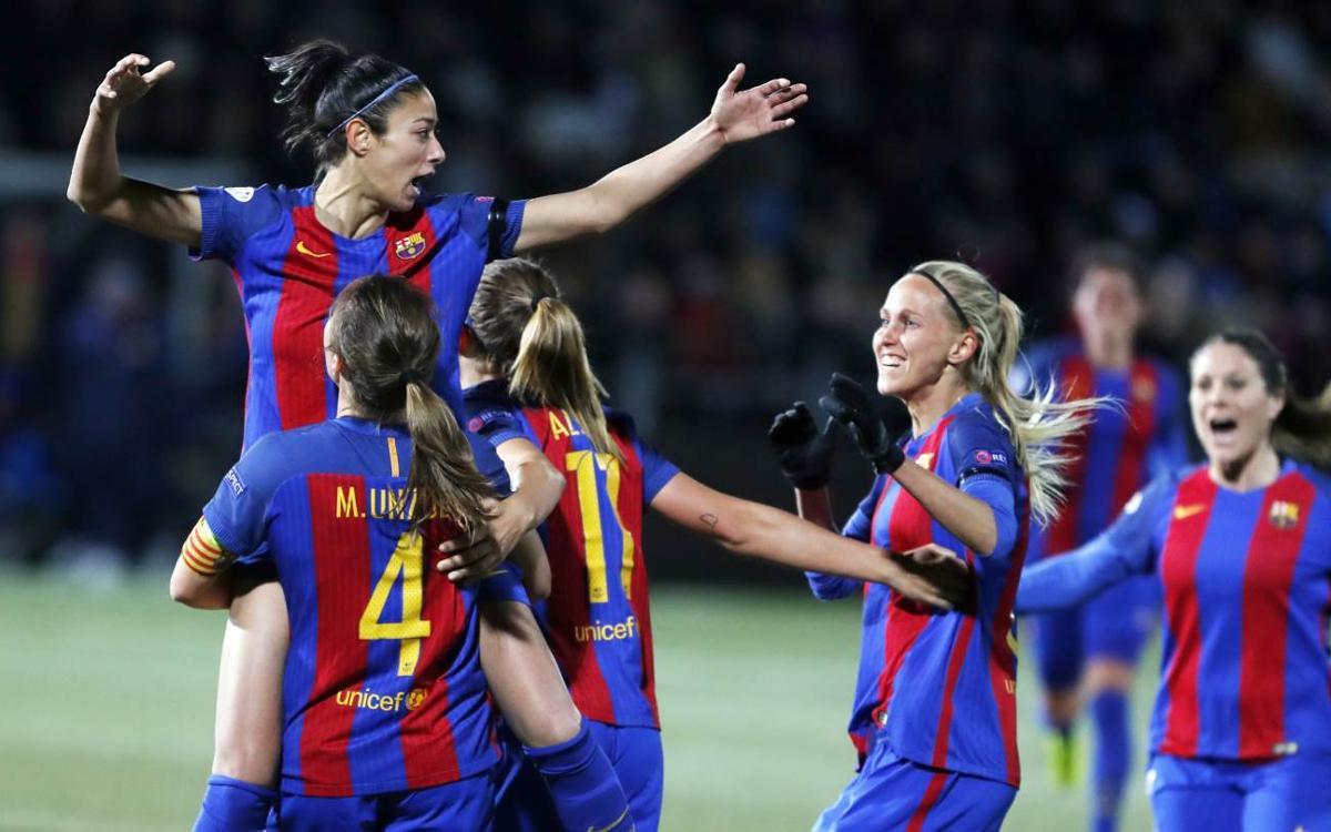 FC Rosengärd 0-1 FC Barcelona: Victory in Malmö puts semis in sight