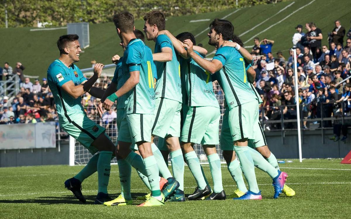 CF Badalona v Barça B: Play-off spot guaranteed (0-2)