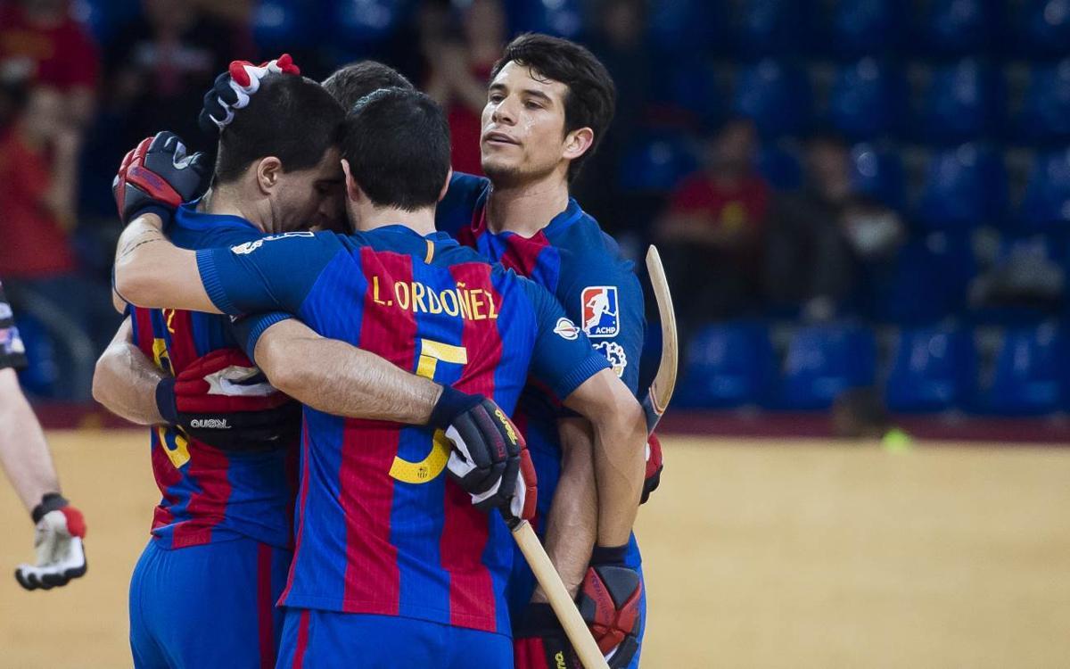 FC Barcelona Lassa - CE Noia Freixenet: Paciencia para acabar goleando en la segunda mitad (6-2)