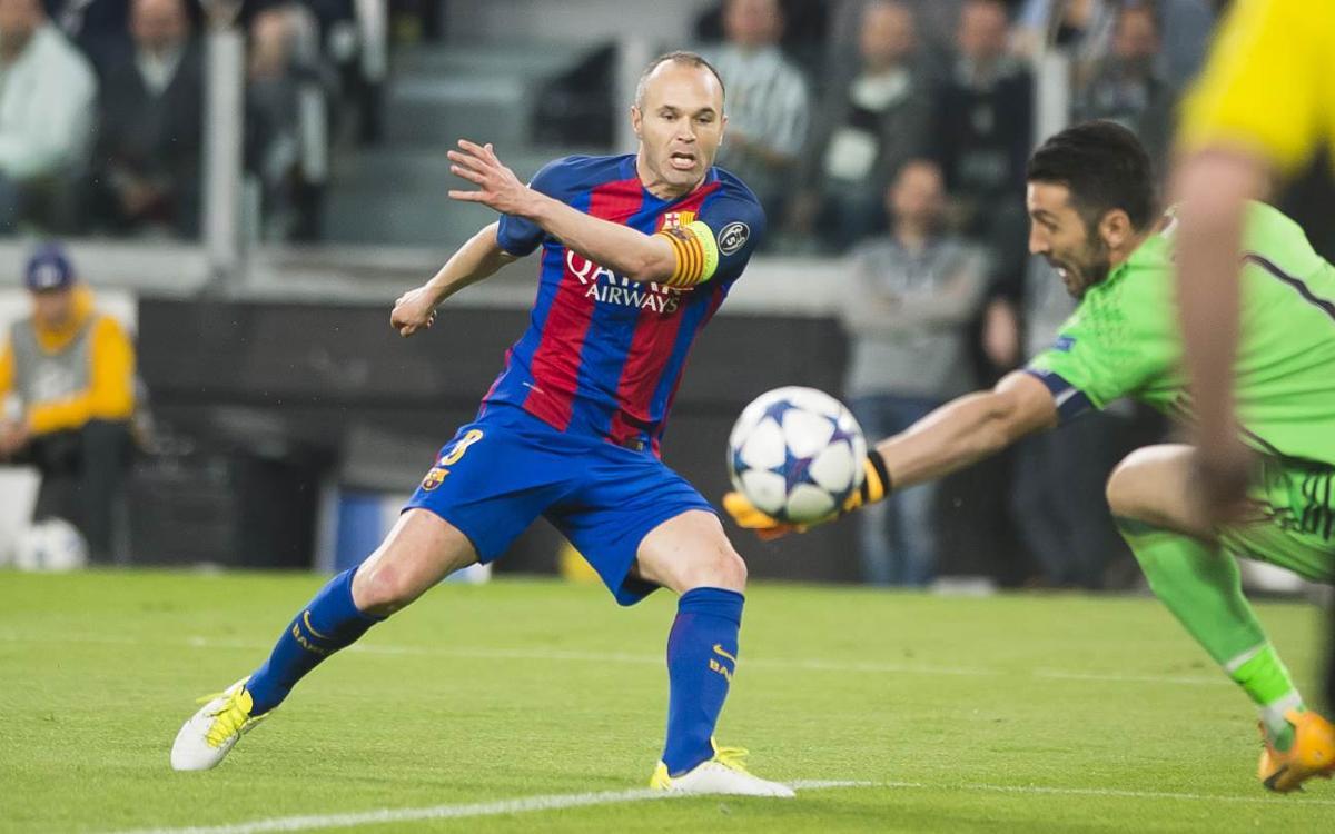 El resumen del Juventus - Barça de Liga de Campeones
