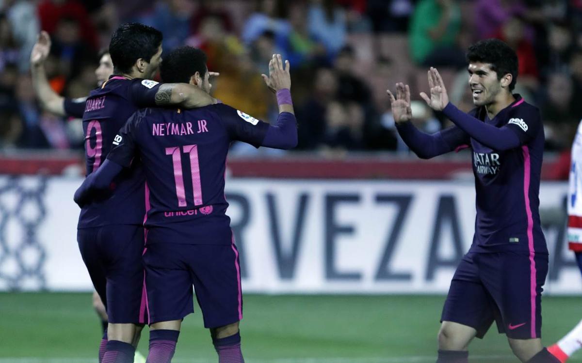 El debut de Carles Aleñá en la Liga