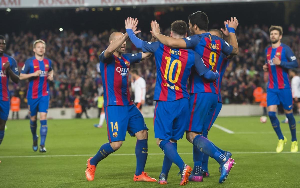 [MATCH REPORT] FC Barcelona 4-2 Valencia: Too hot to handle