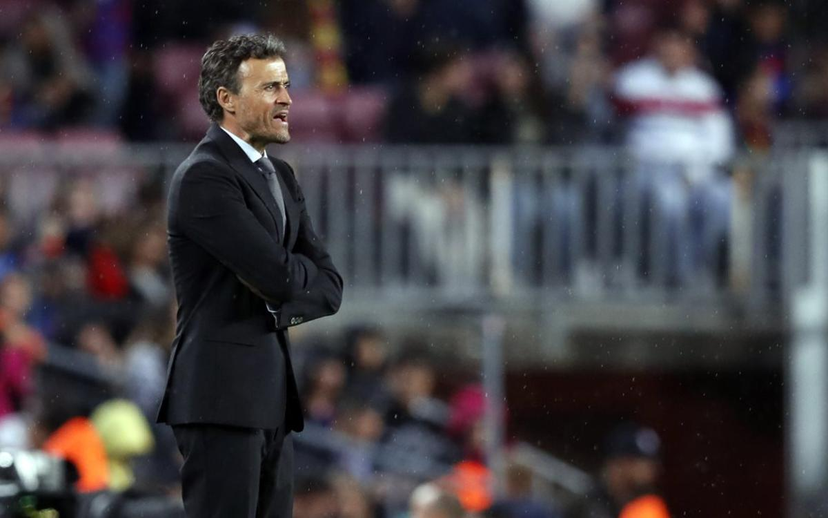 Luis Enrique: We will fight to the end