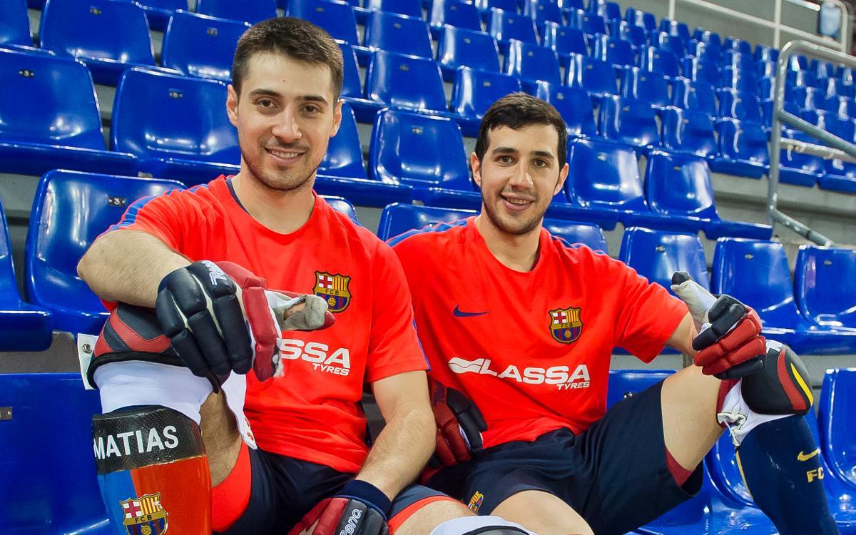 Matias Pascual y Lucas Ordoñez, campeones de la Copa de las Naciones con Argentina
