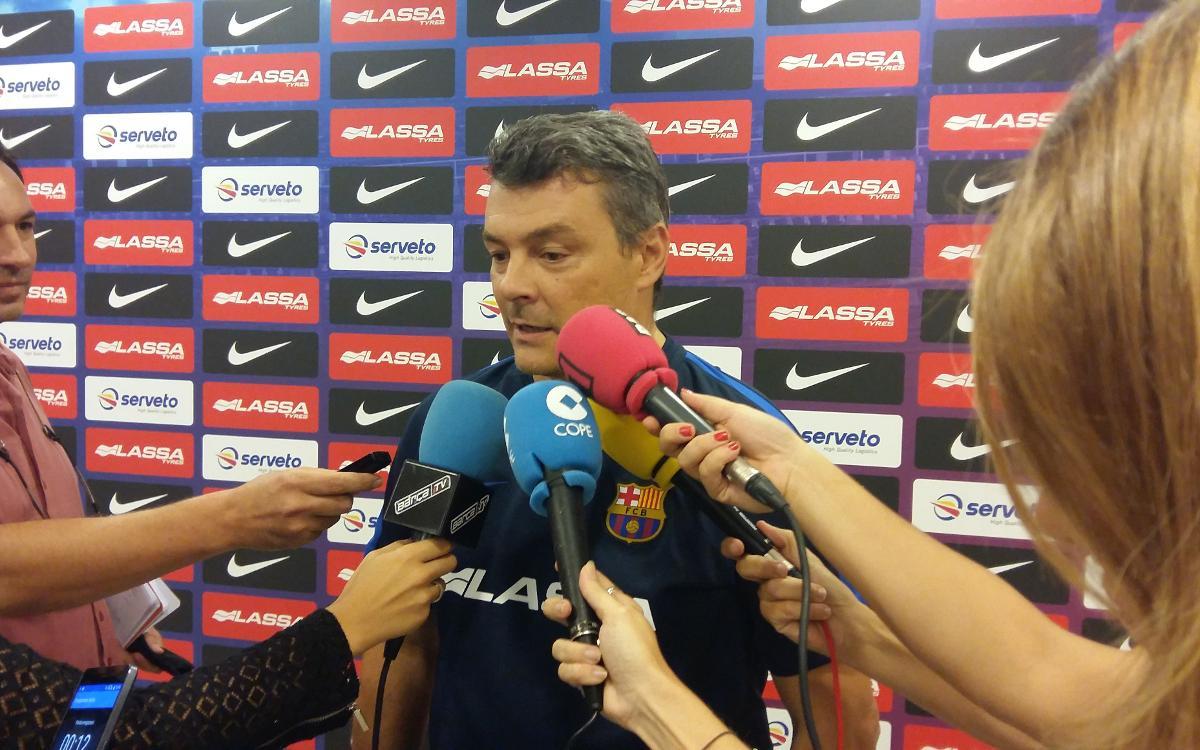 """Xavi Pascual: """"S'enfronten dos dels millors equips d'Europa"""""""