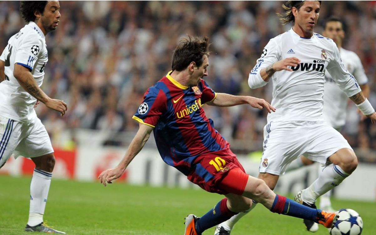 VIDEO: Messi's greatest nights at the Santiago Bernabéu