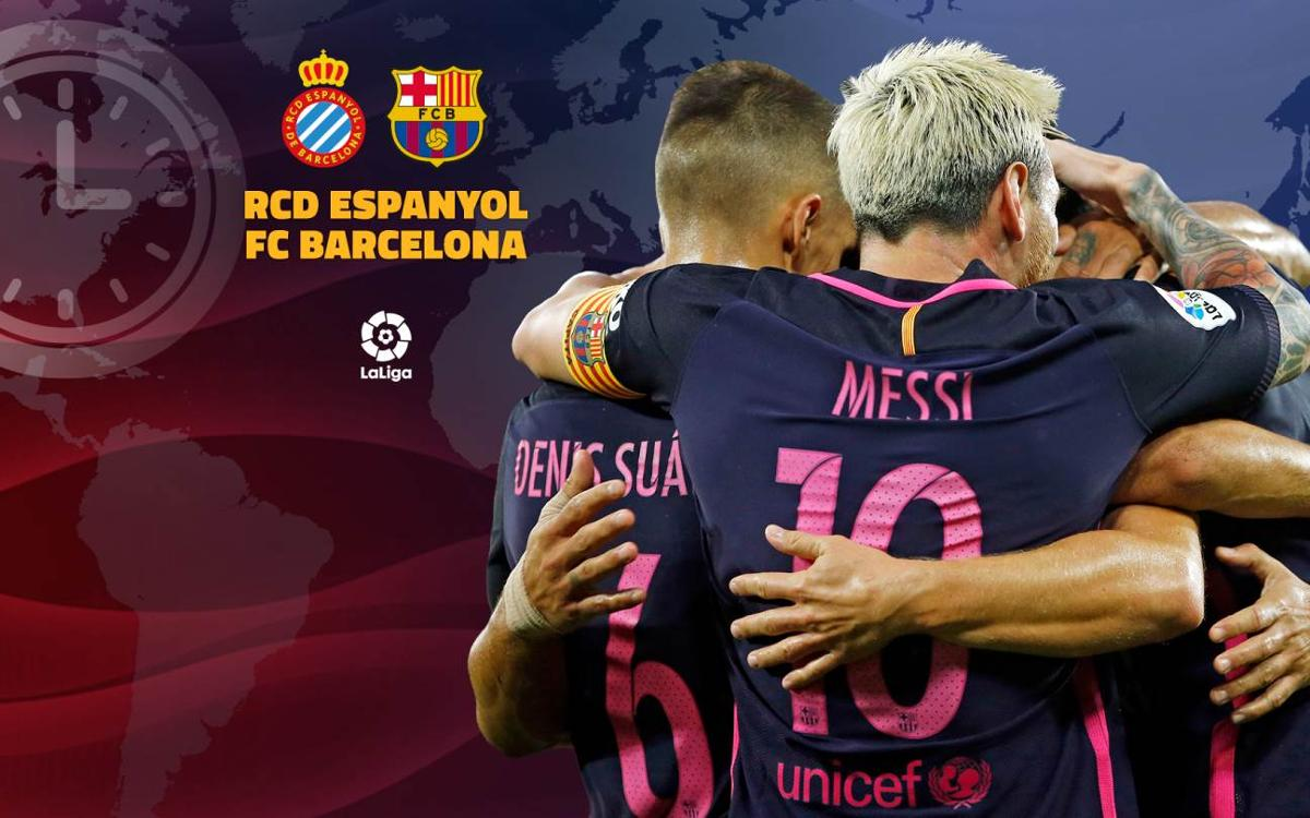 1f40efd1dba How to follow Espanyol v FC Barcelona Catalan derby in Week 35 of La Liga  live