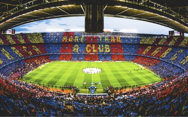Barça players put on next season's first kit
