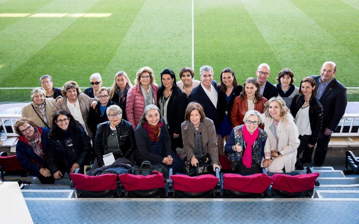 Récord histórico de público en un partido del Barça Femenino en el Miniestadi con 10.352 espectadores