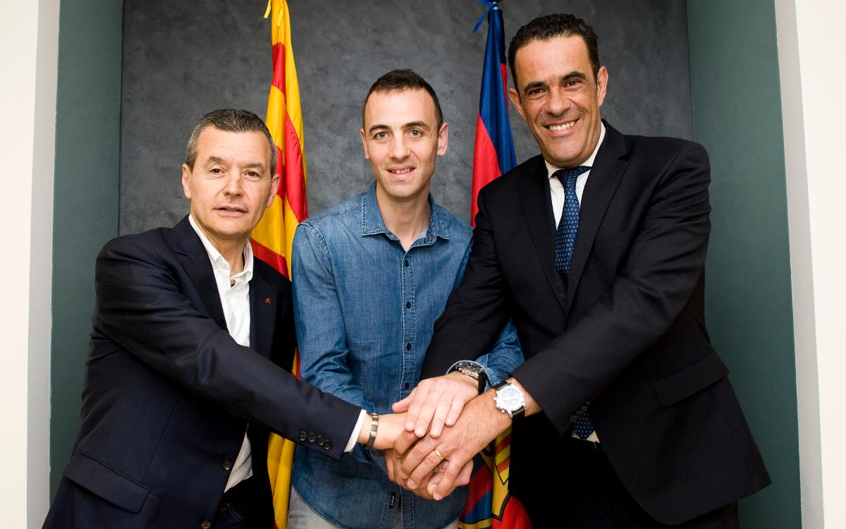 Sergi Panadero jugará en el Barça Lassa hasta 2019