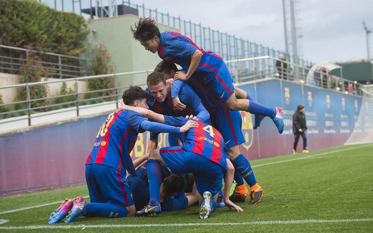Damm 0-2 Barça: Victories keep coming for title winning U19A team