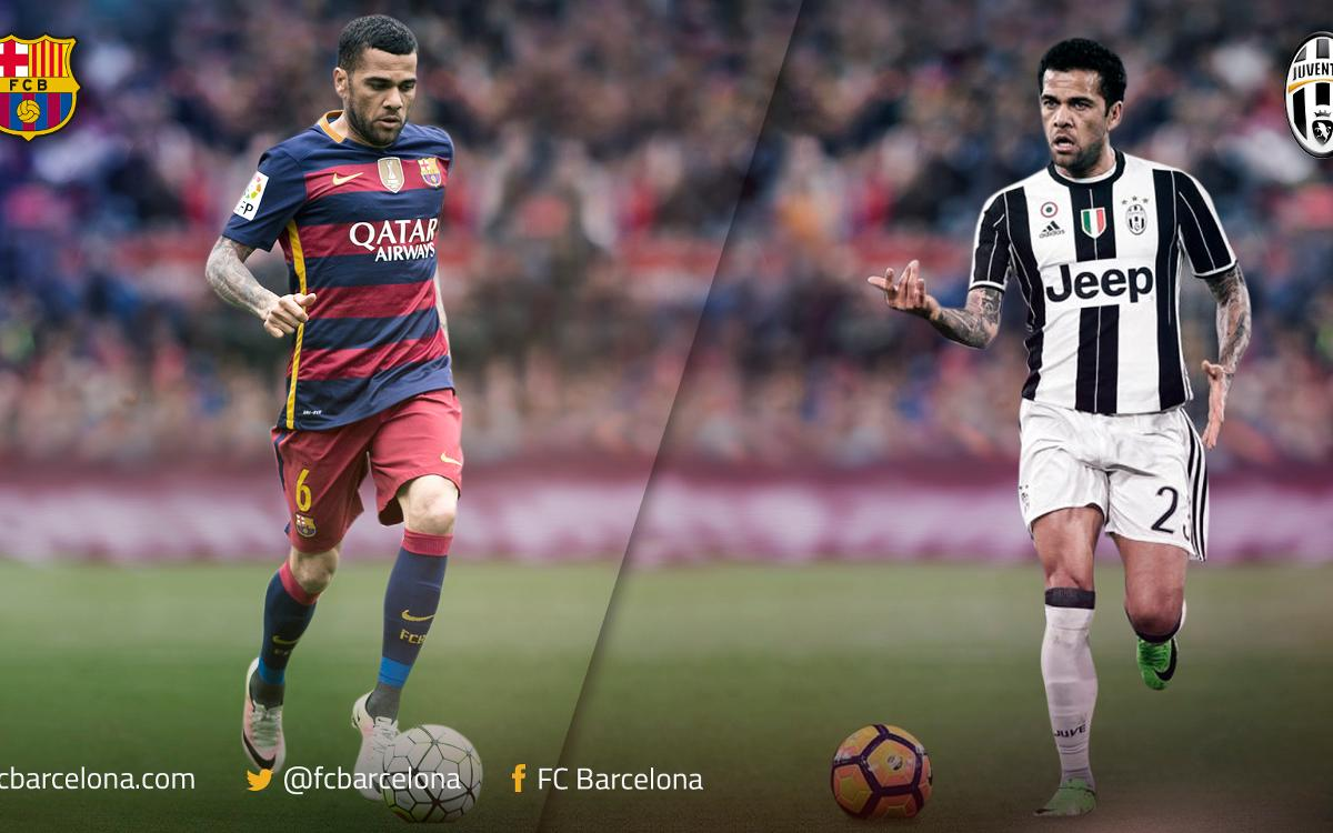 Dani Alves and FC Barcelona meet again