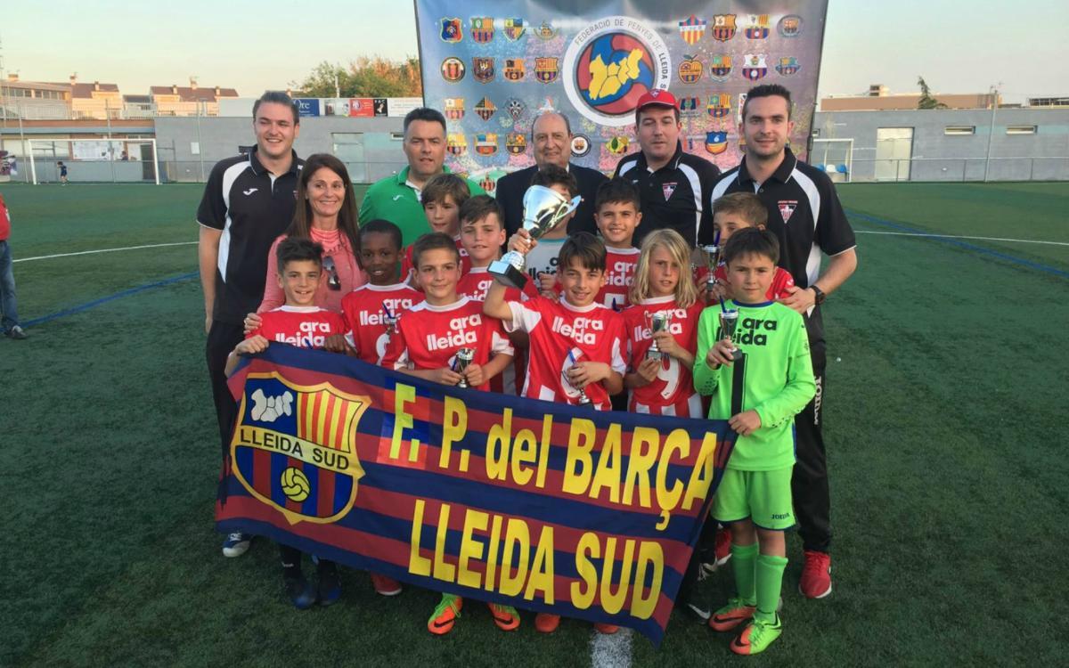 Rècord a la 10a edició del Torneig de Futbol-7 de Penyes de Lleida
