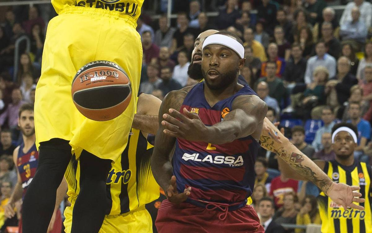 FC Barcelona Lassa – Fenerbahçe: Derrota ajustada a l'estrena al Palau (72-73)
