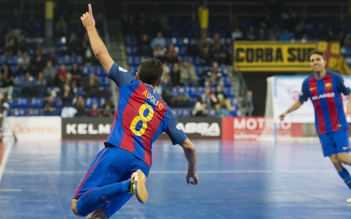 FC Barcelona Lassa v Palma Futsal: Five-star display (5-1)