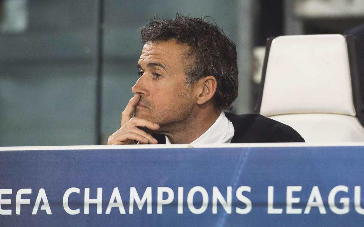 Luis Enrique: 'Time to lift ourselves again'