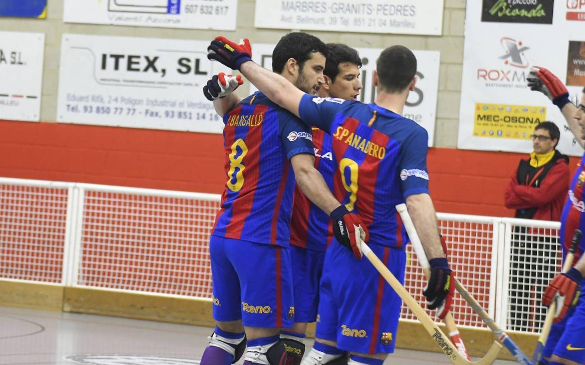 CP Manlleu – FCB Lassa: Remuntada en un partit ple d'alternatives (1-2)