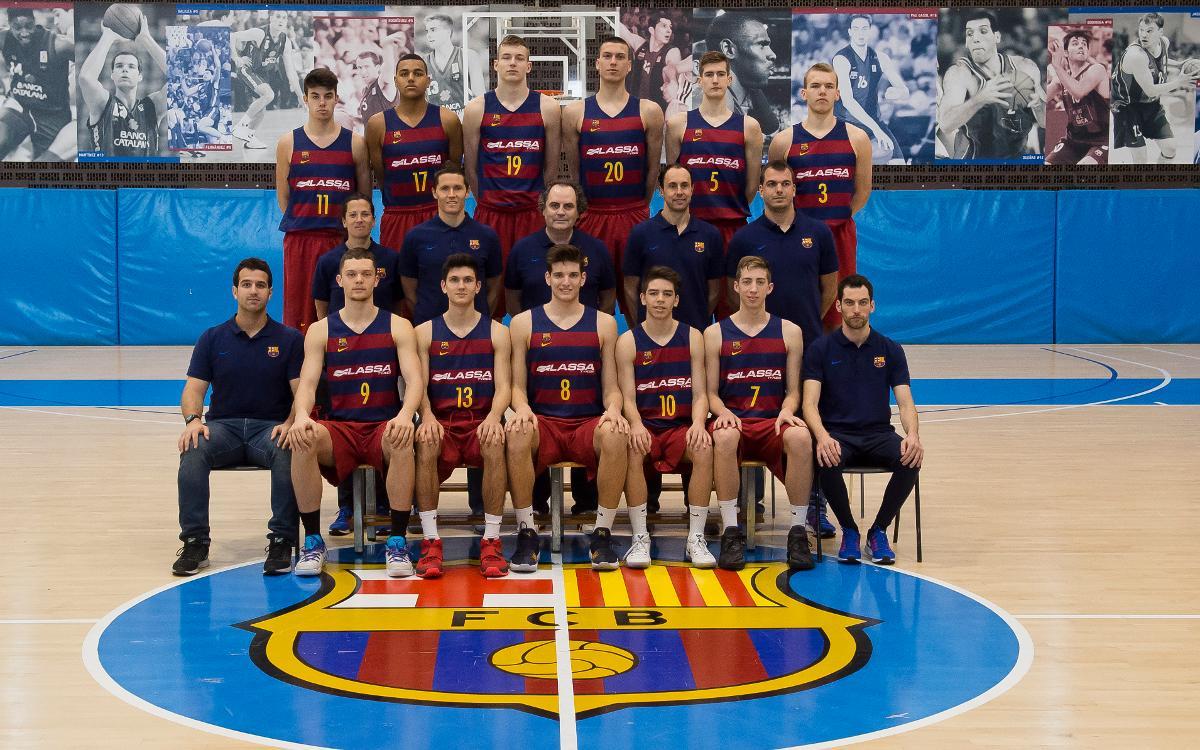 El júnior del Barça Lassa, segon al Campionat de Catalunya