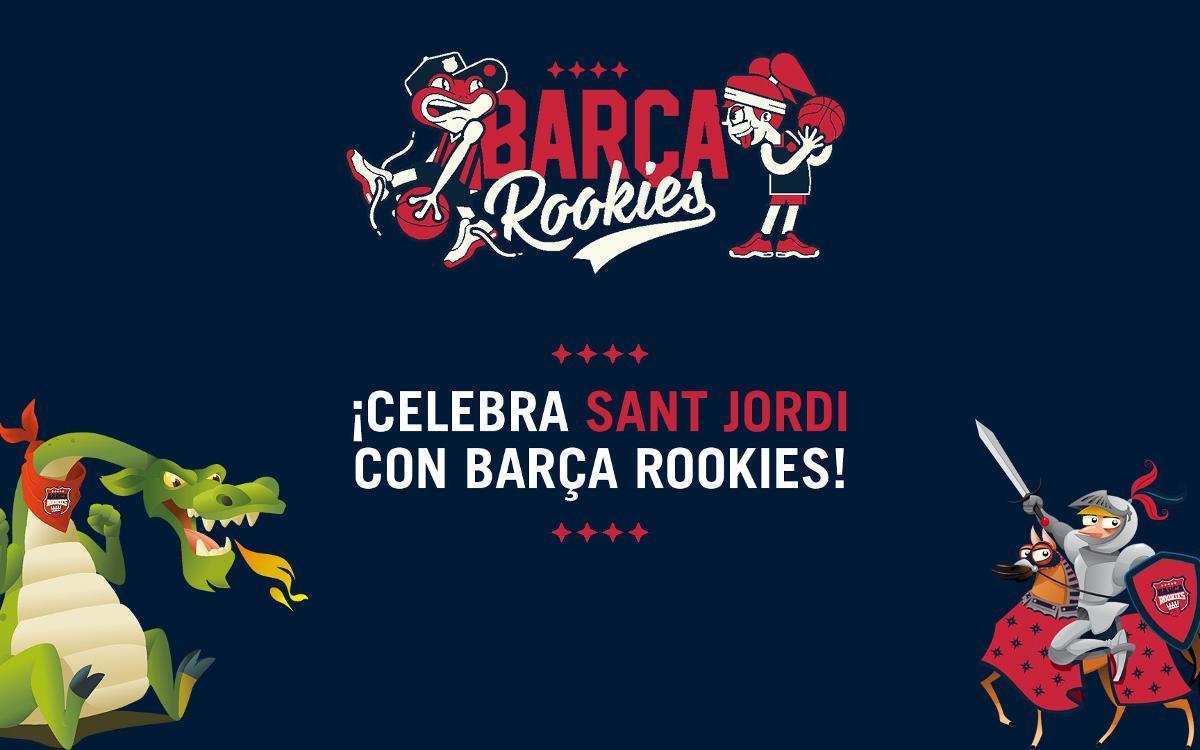 Concurso 'Sant Jordi' para los 'rookies' azulgrana