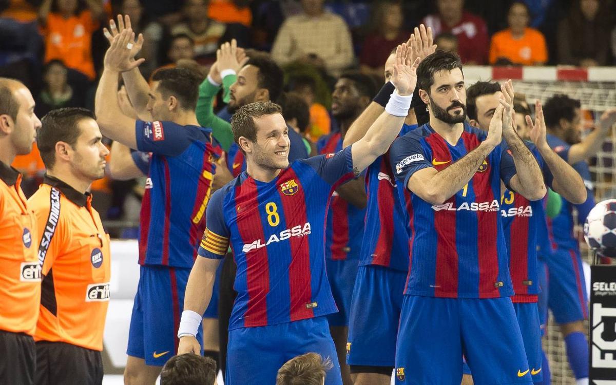 Seis azulgranas optan al mejor equipo de la VELUX EHF Champions League