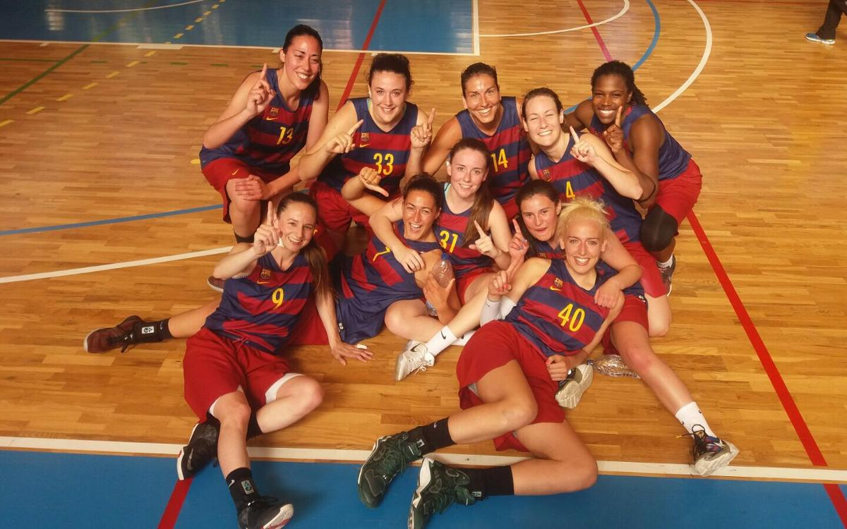 Barça CBS - GEiEG: Triunfo para proclamarse campeonas de la Liga Regular