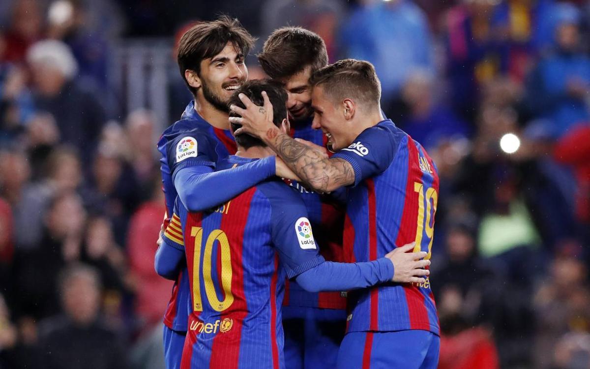 MATCH REPORT: FC Barcelona v Osasuna: Seven heaven (7-1)