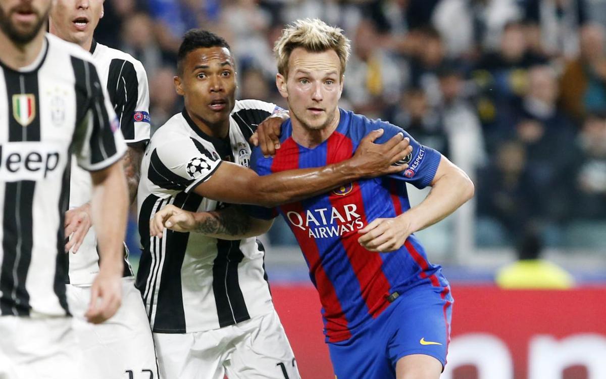 Rakitic llega a los 150 partidos oficiales con el FC Barcelona