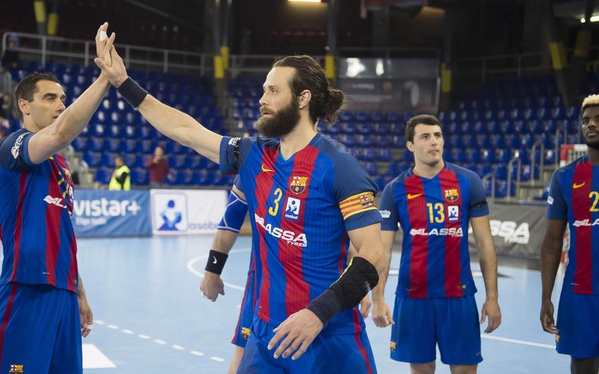 El Barça Lassa tiene la Liga Asobal a tocar