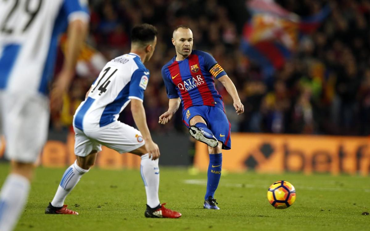 "Andrés Iniesta: ""Winning a derby is always special"""
