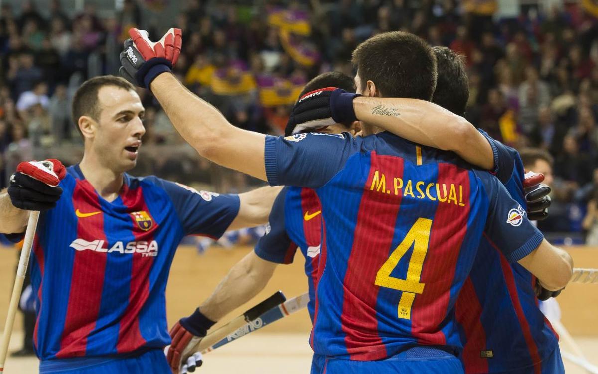 FC Barcelona Lassa - FC Porto: Remontada para recuperar el liderato (3-1)