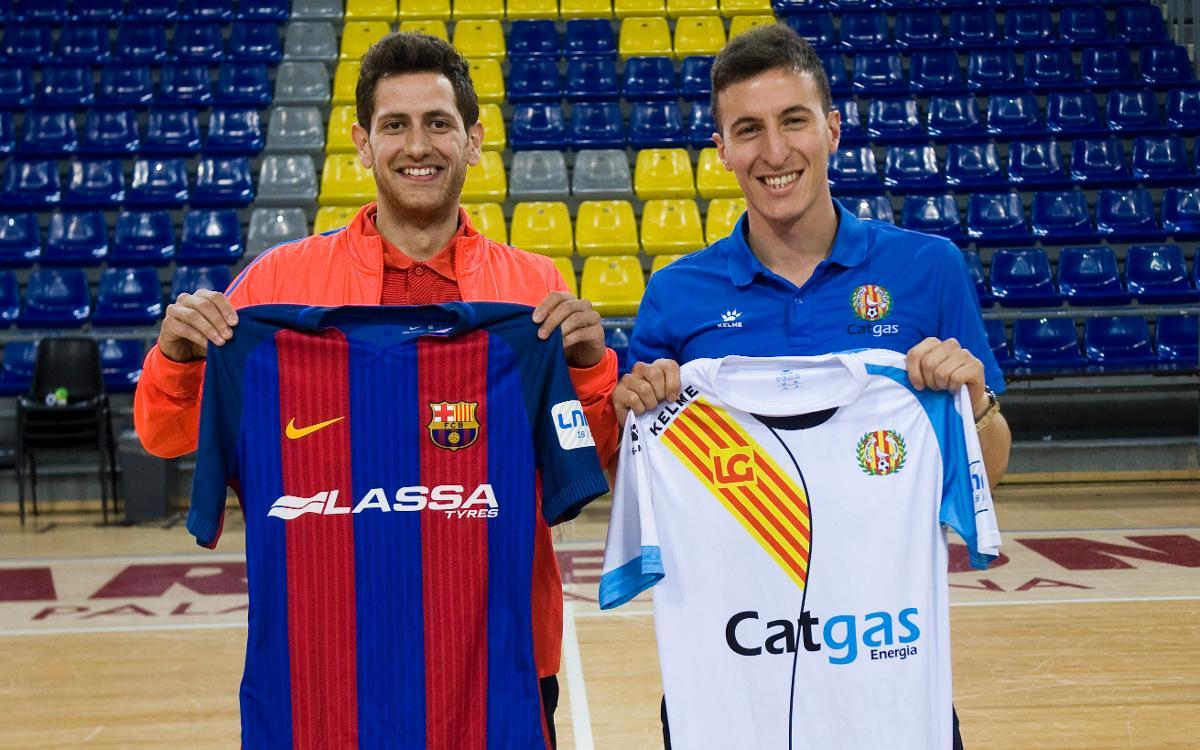 Rafa López i Maxi Rescia, amb ganes de derbi
