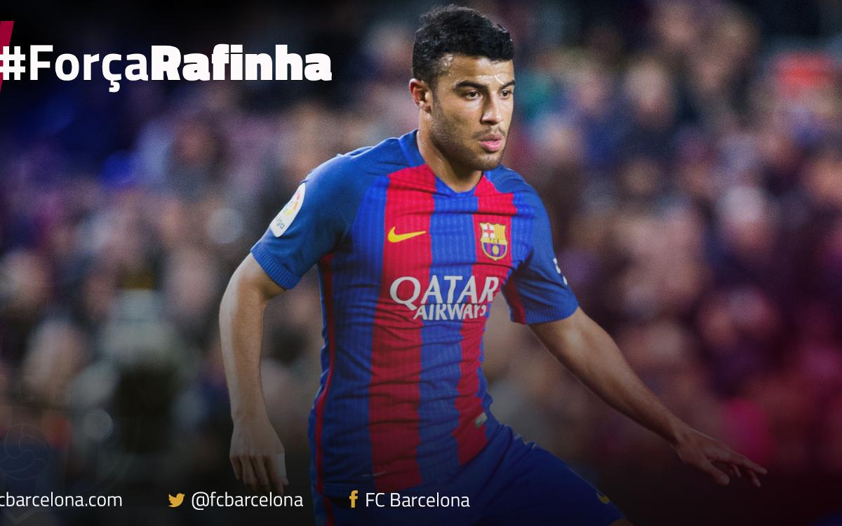 Rafinha out for four months