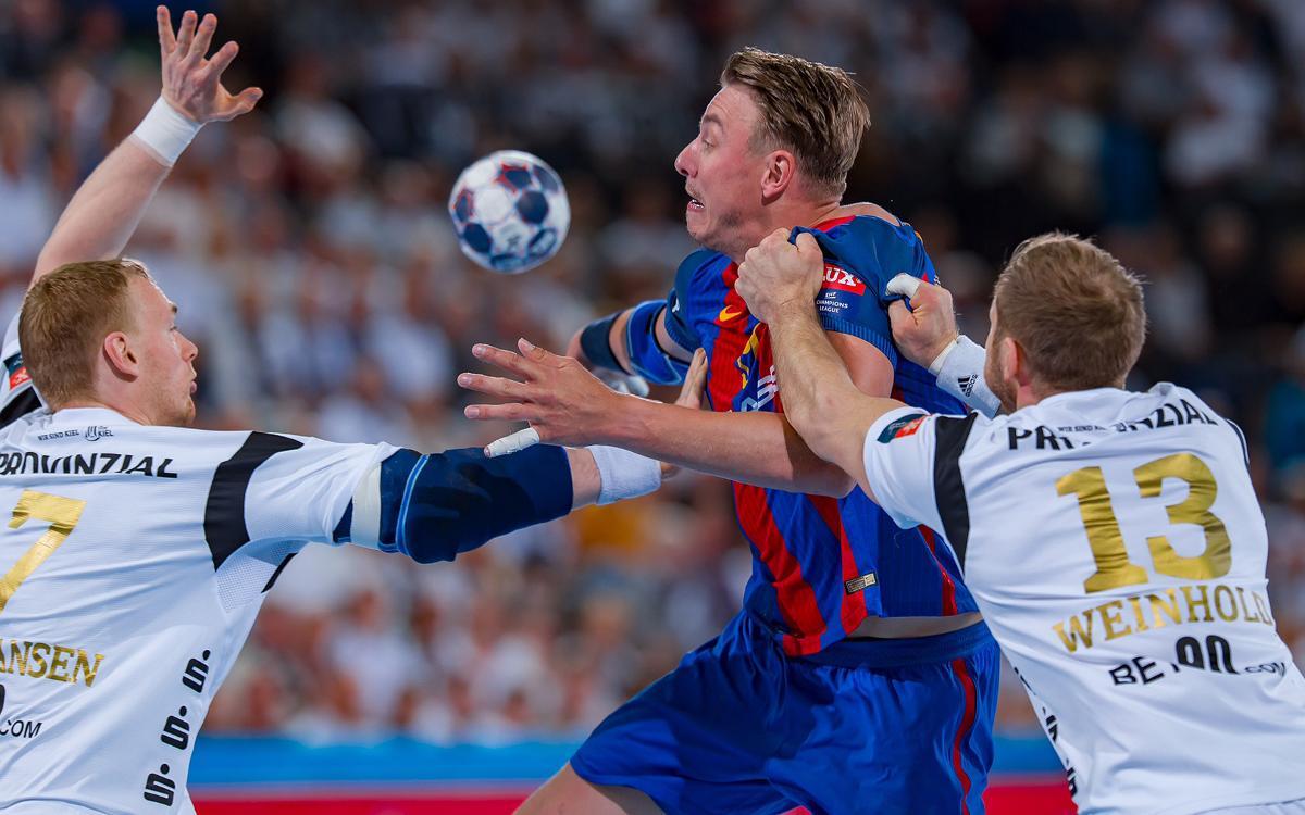 THW Kiel – FC Barcelona Lassa: All to play for in second leg (28-26)