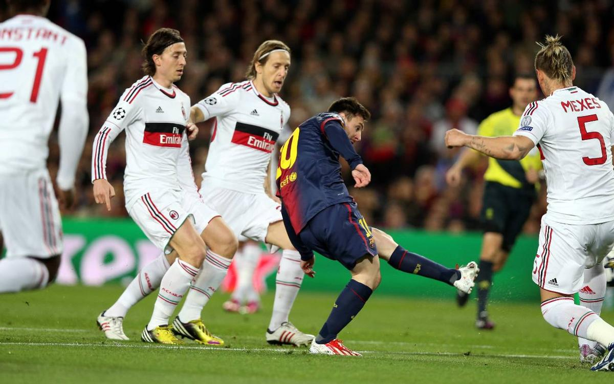 El Barça ya sabe lo que es remontar ante Allegri