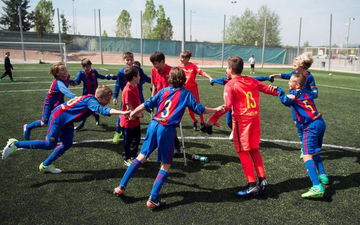 El Alevín A gana la Liga