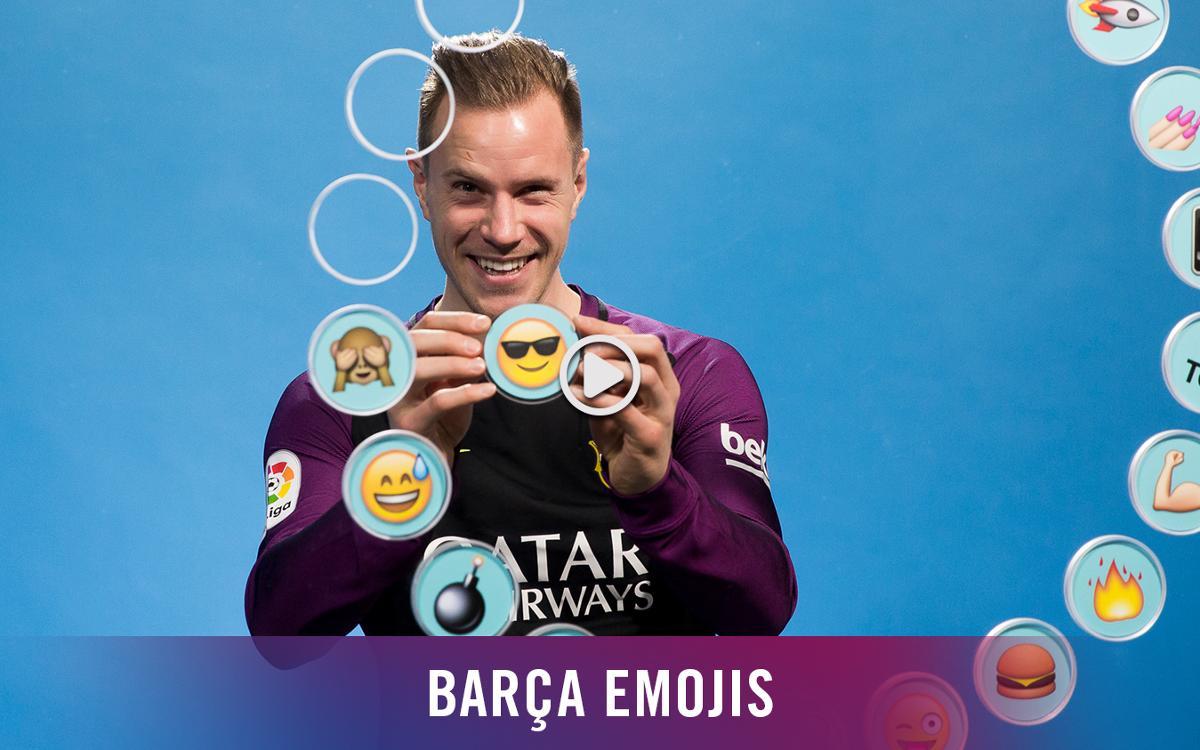 Barça emojis: Ter Stegen