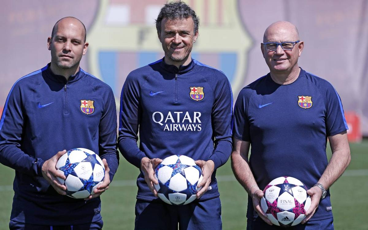 Blaugrana managers, united for Europe