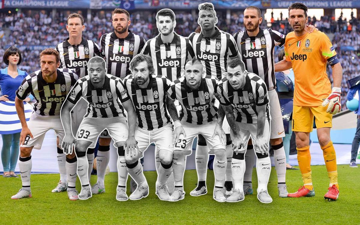 Así ha cambiado la Juventus respecto a la final de Berlín