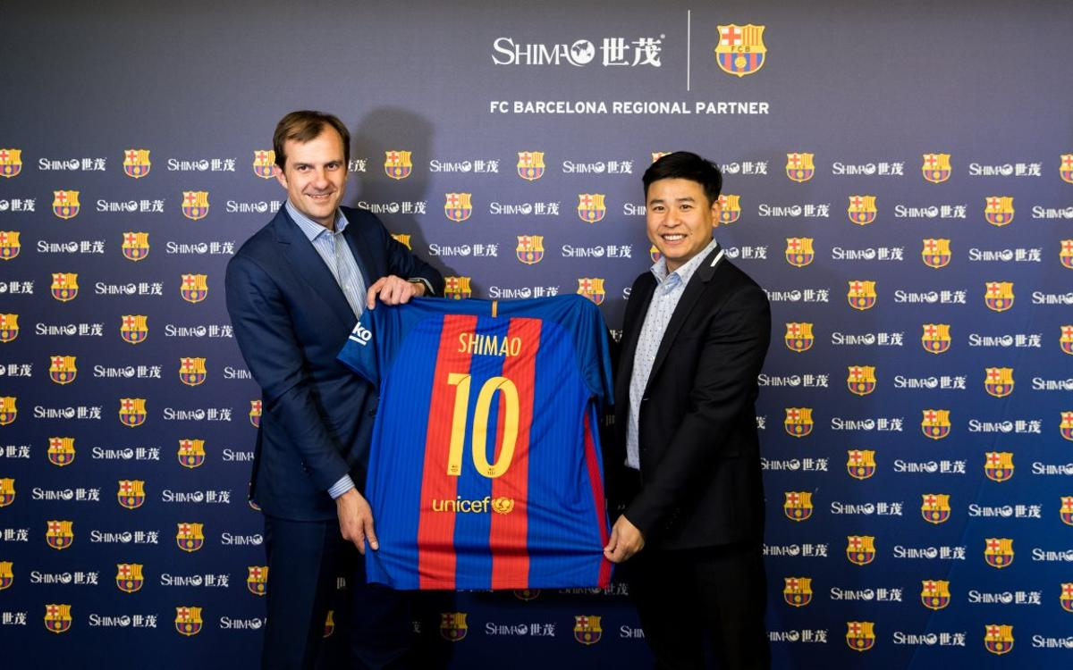 Shimao Group, new regional sponsor of FC Barcelona