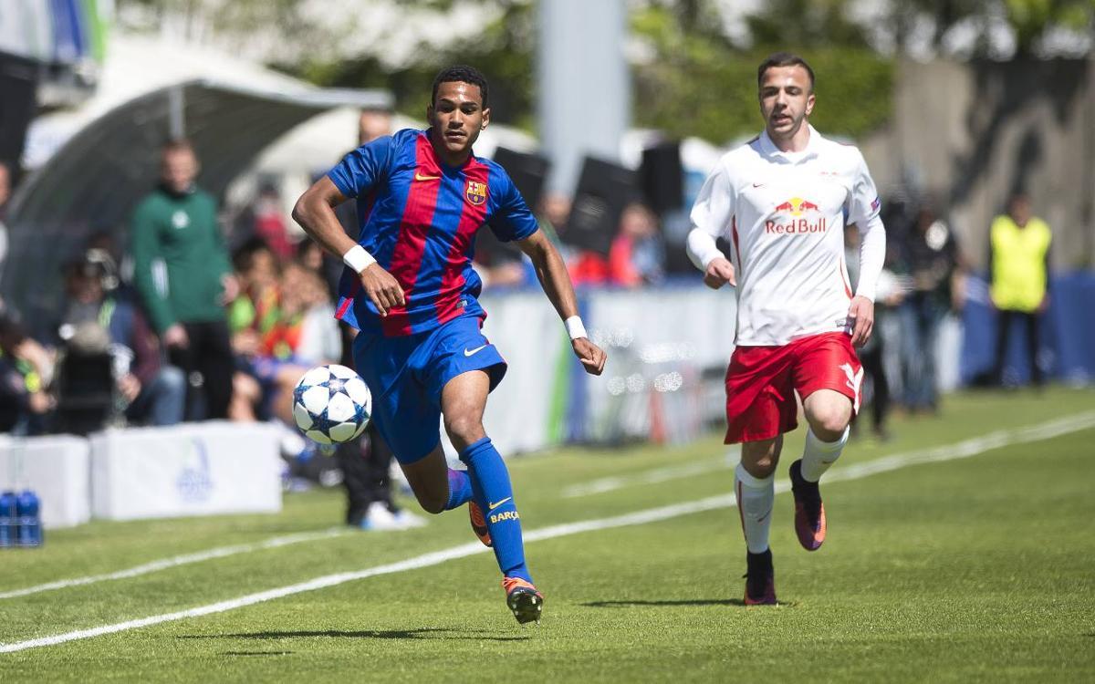 FC Barcelona U19 v RB Salzburg: Effort without reward (1-2)