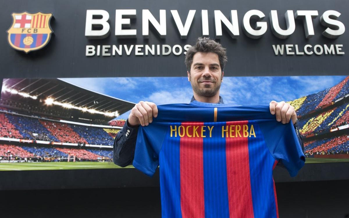 Miquel Delàs torna al FC Barcelona d'hoquei herba