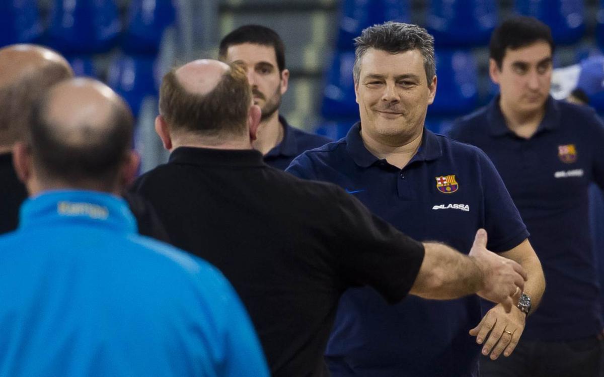 """Pascual: """"La pista del Valladolid és una de les més emblemàtiques de l'Asobal"""""""