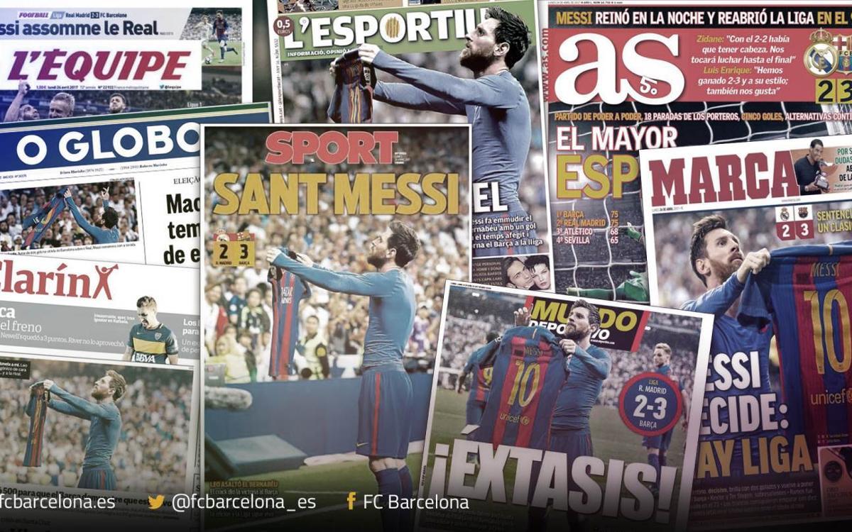 El mundo se rinde a Leo Messi