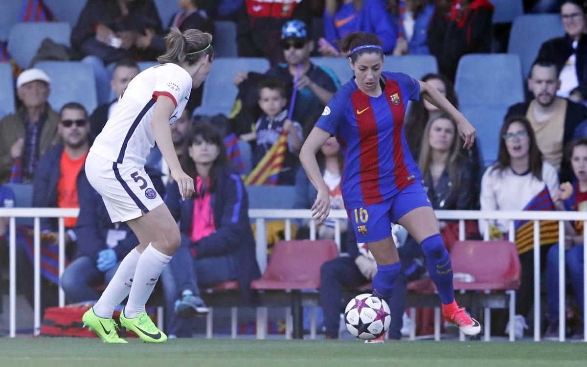 Journée historique pour le FC Barcelone Féminin contre le Paris Saint-Germain Féminin