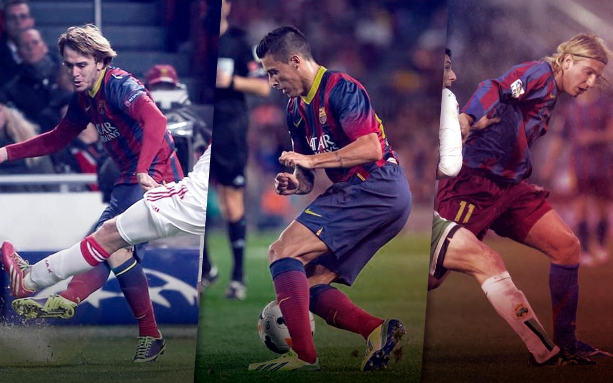 From Catalonia to Calcio: Former FC Barcelona XI now playing in Serie A